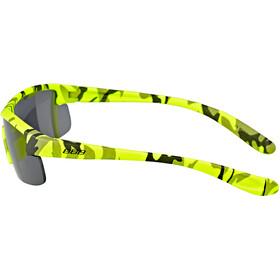 BBB Kids BSG-54 Sportbrille Kinder camouflage matt neon gelb